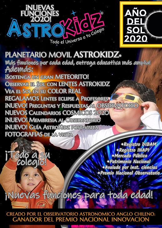 AstroKidz Oferta Colegios 2020 PAGINA 1
