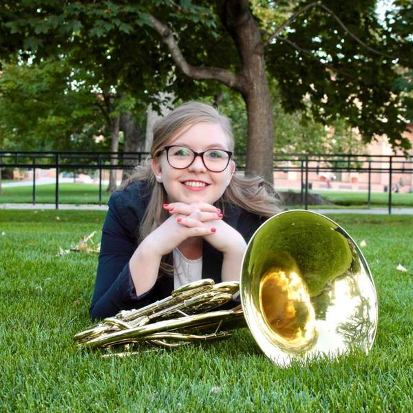 Katelyn Wojniak, horn