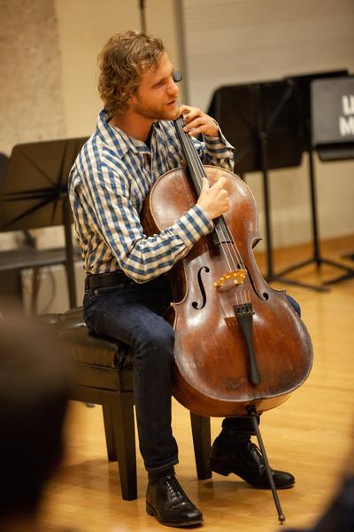 Eric Haugen, cello & voice