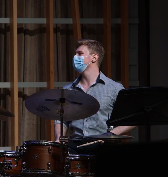 John Sevy, percussion
