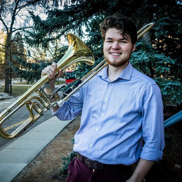 Declan Wilcox, bass trombone