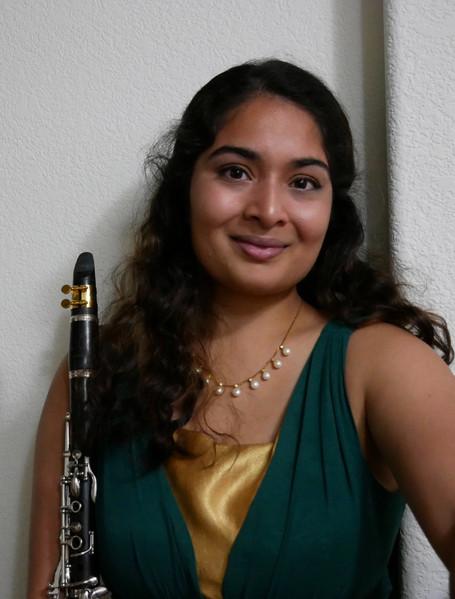 Anoushka Divekar, clarinet