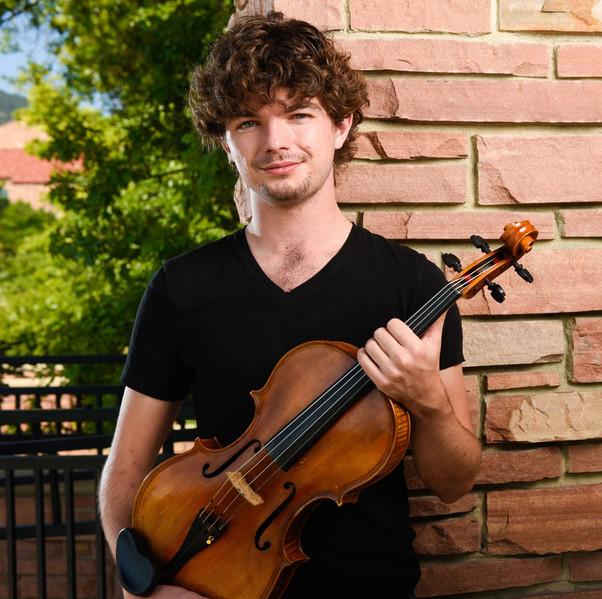 Jordan M Holloway, viola / composer