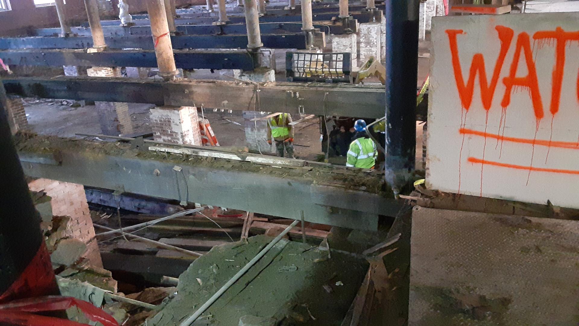 Continued Floor Demolition