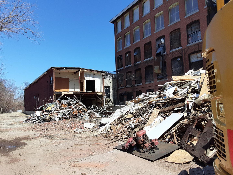 Demolition Debris Cleanup