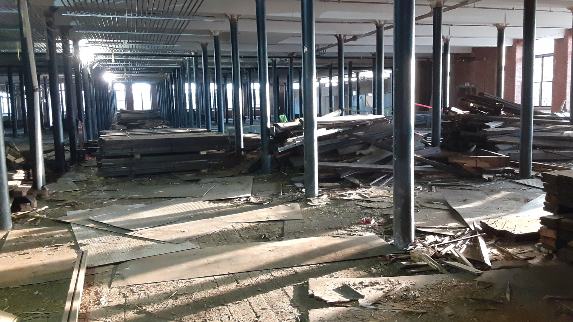Foundational Demolition