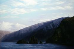 바닷가풍경80.3cmX53cm Oil on Canvas-2009