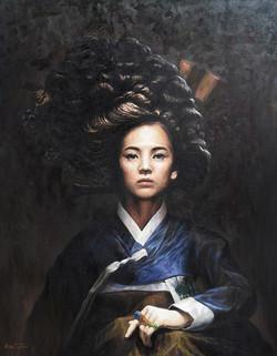 Kai Jun.한국인 시리즈 NO.5- 최경회의 여자. 논개. 유화