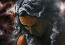 어느 날 65.2cm X 45.5cm Oil on Canvas-2007.