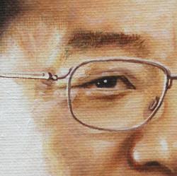 김준규 눈 부분 -53cm X 65