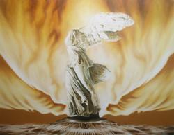 프랙탈 몽환 시리즈- 신화의 재탄생No.1  116.7cm X 90