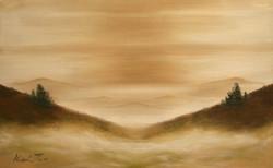 프랙탈 몽환 시리즈-안개No.1  53cm X 33