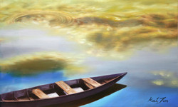 호수의아름다움27.3cmX45.5cm유화