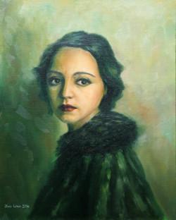 초록방 33.3cm X 45.5cm Oil on Canvas-2007
