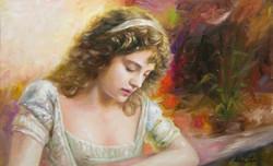 상념 53cm X33.3cm Oil on Canvas-2010