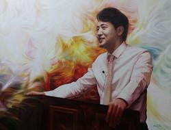 오세훈 116.8cm X 91cm Oil on Canvas-2008