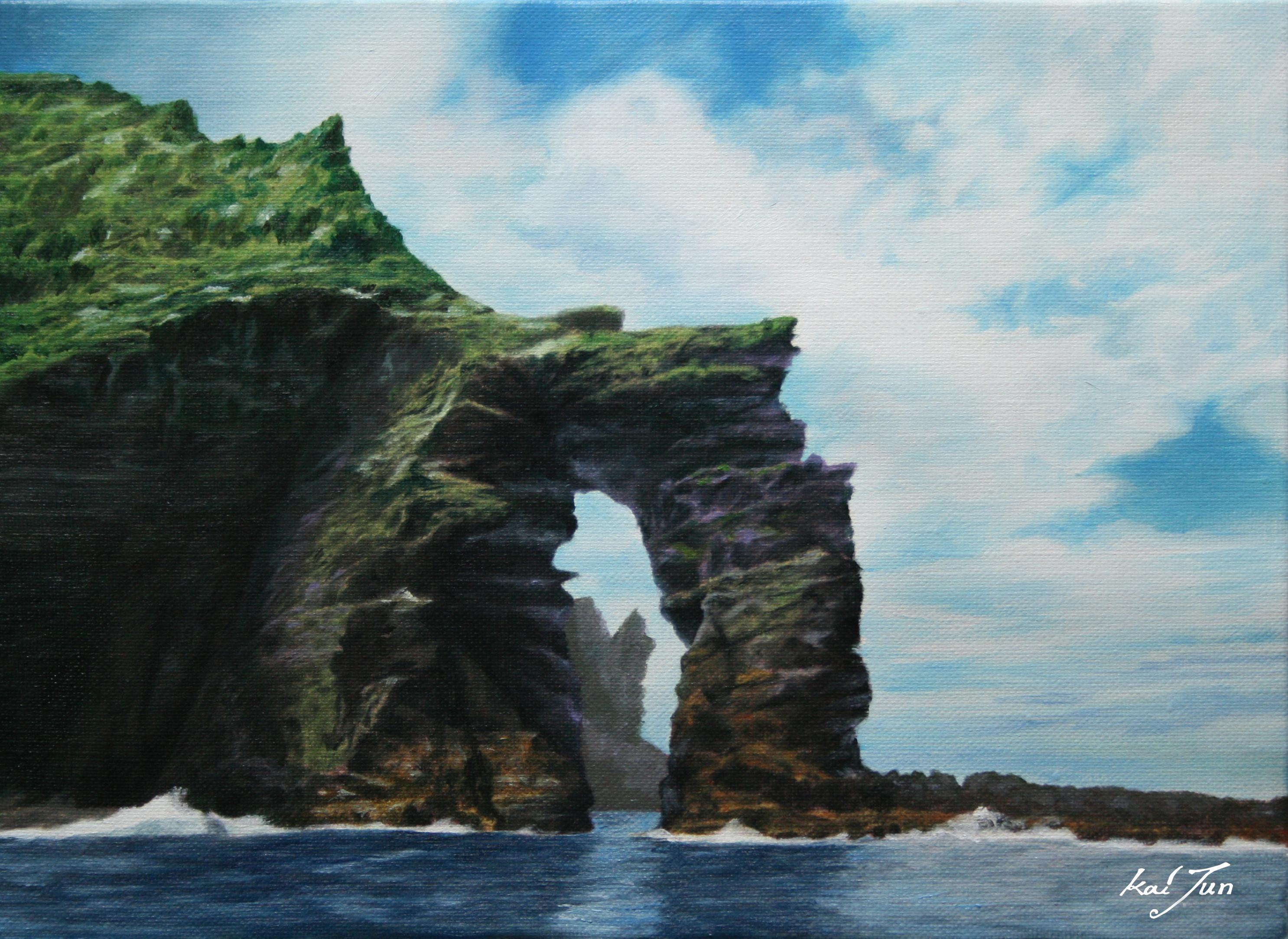 독립문바위33.3cm X 24.3cm Oil on Canvas-2008.