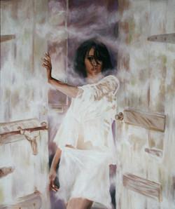 새로운시작72.7cm X 60.6cm Oil on Canvas-2007.