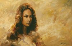 기억속으로 53cm X33.3cm Oil on Canvas-2010