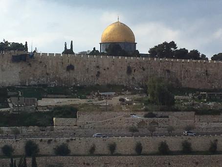 October 6, International Pray for the Peace of Jerusalem Day