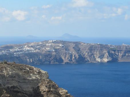 The Donkeys of Santorini Greece