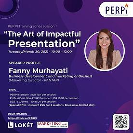 Event Perpi The Art of Impactful Present