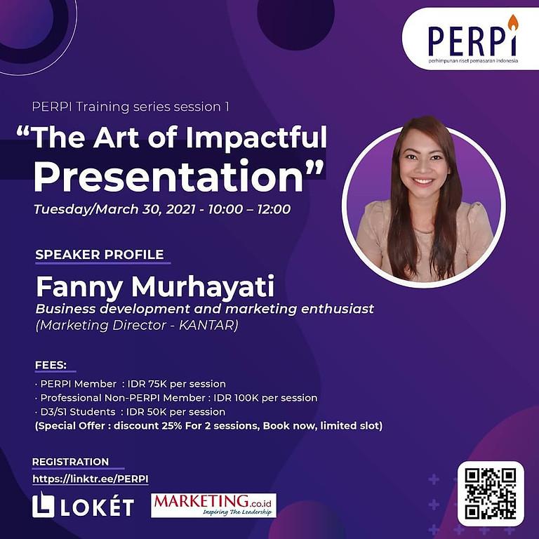 The Art of Impactful Presentation