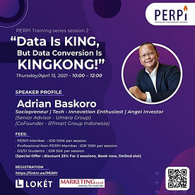 Event Perpi Data Is King, But Data Conve