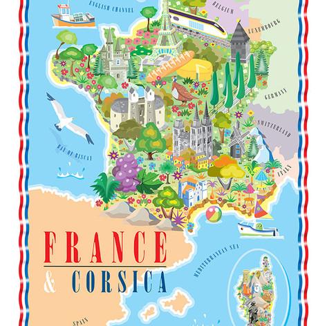 FRANCE & CORSICA