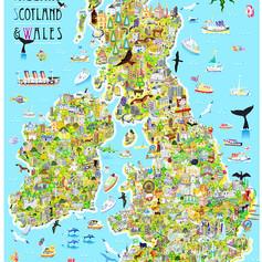 ENGLAND IRELAND SCOTLAND & WALES