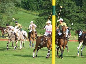 Match de polo sur le terrain de la Tuillerie