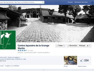 Suivez nous sur Facebook...