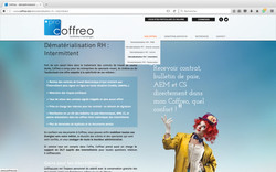 Site internet coffreo.biz