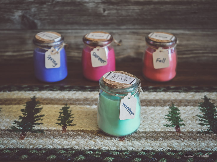 Winter blend soy candle