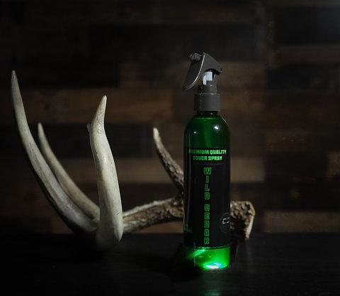 Wild Cedar cover - bug spray