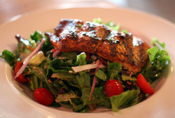 Mesquite Grilled Salmon Salad