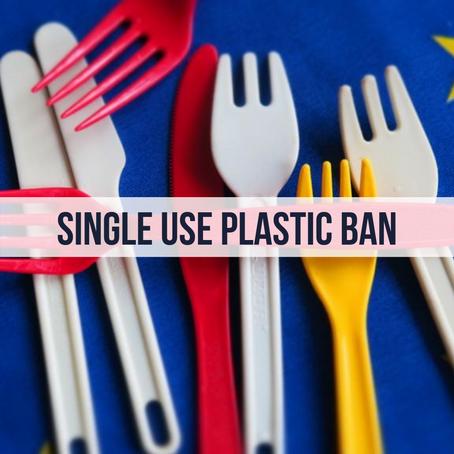 EU Bans Single-Use Plastic