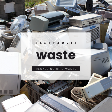 E-Waste and the Importance of Electronics Recycling