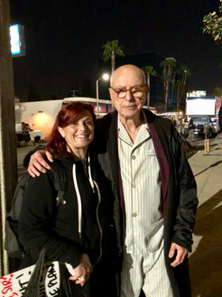 I love working with The great Alan Arkin