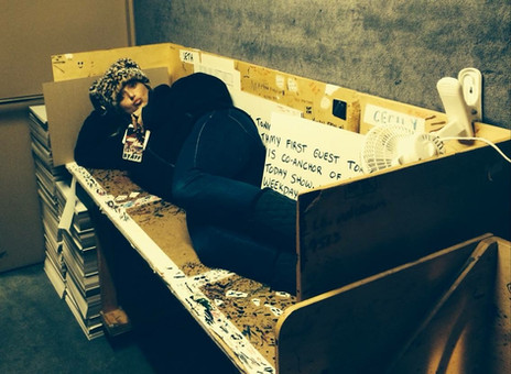 This was my SNL weekend update desk