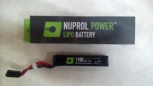 nuprol 1100mah 11.1v lipo battery