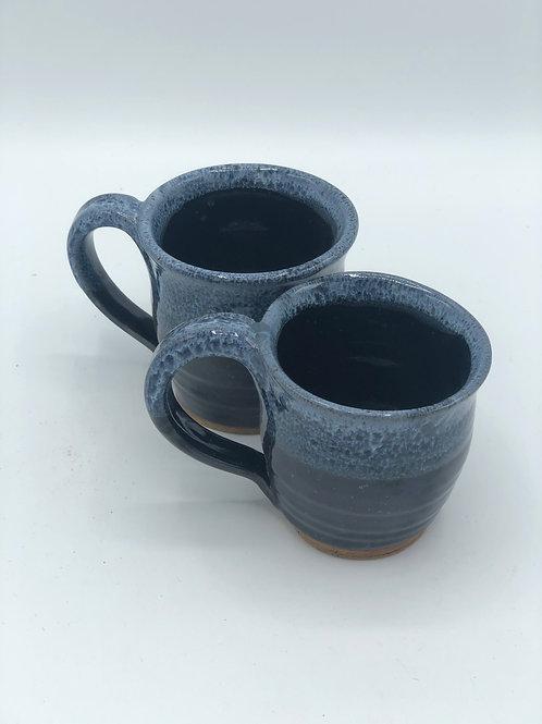 Set of 2 Cosmos Glaze Expresso Mugs