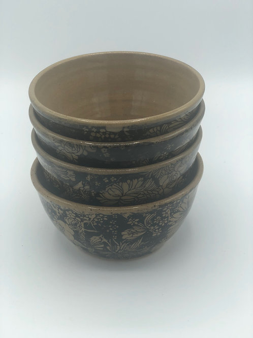 Chrysanthemum Small Stacking Bowls