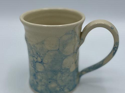 Turquoise Bubble Glazed Mug