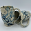 Thumbnail: Set of 2 Blue Splatter Mugs