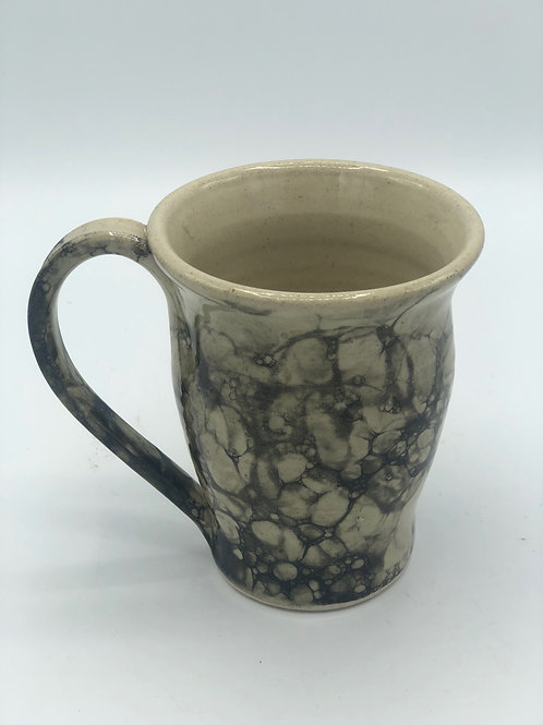 Black Bubble Glaze Mug