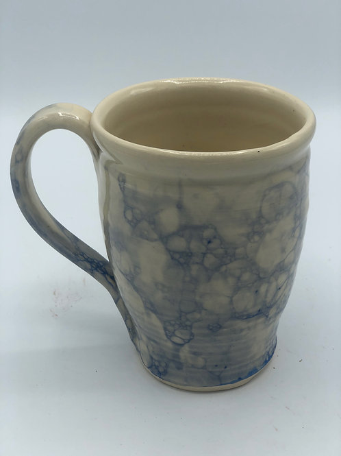 Blue Bubble Glaze Mug