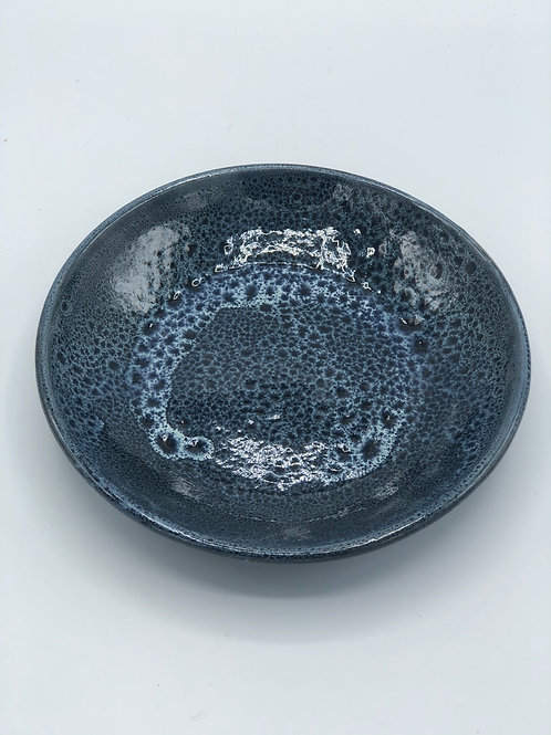 Cosmos Glaze Shallow Salad Bowl