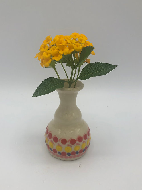 Dotted Tiny Vase