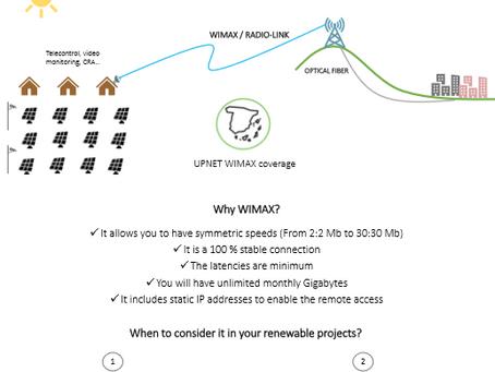 Wimax renovable, factor de ahorro.